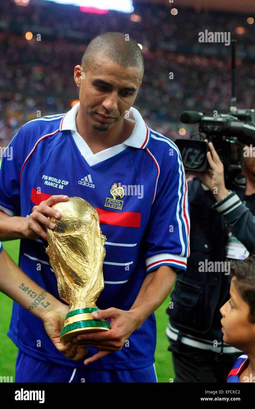 David trezeguet france 98 auswahl mondiale feier des 10ans de la victoire de - Victoire de la coupe du monde 1998 ...