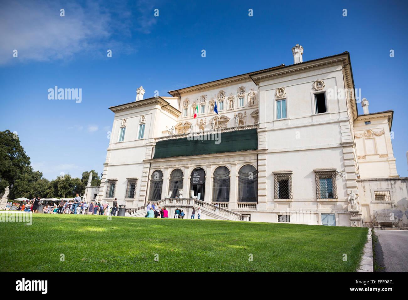 Rom. Italien. Galleria Borghese. Stockbild