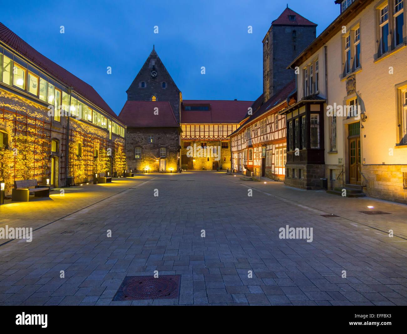 Deutschland, Hildesheim, Domäne Marienburg, Stiftung Universität Hildesheim Stockbild