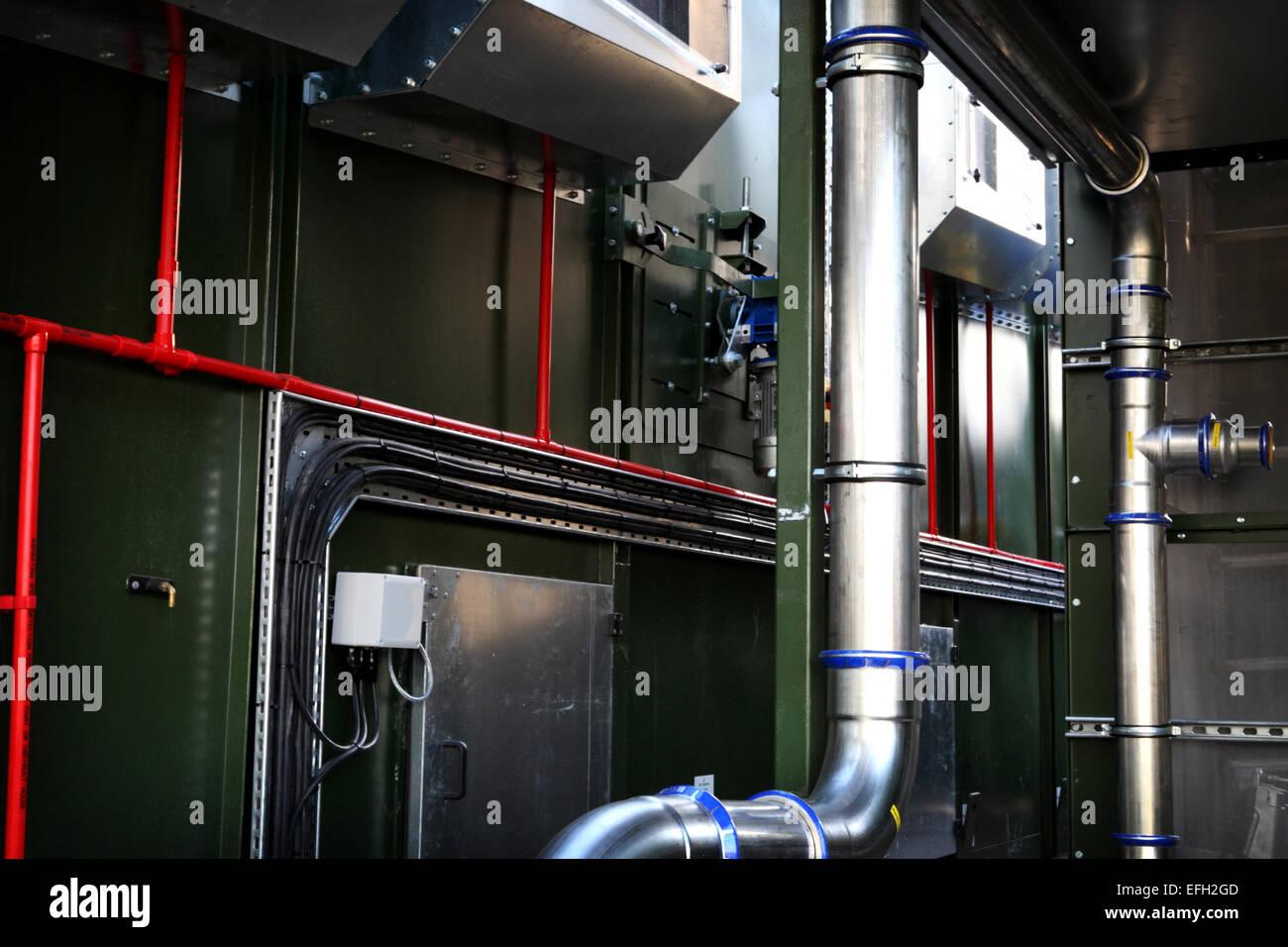 Industrial Boiler Room Stockfotos & Industrial Boiler Room Bilder ...