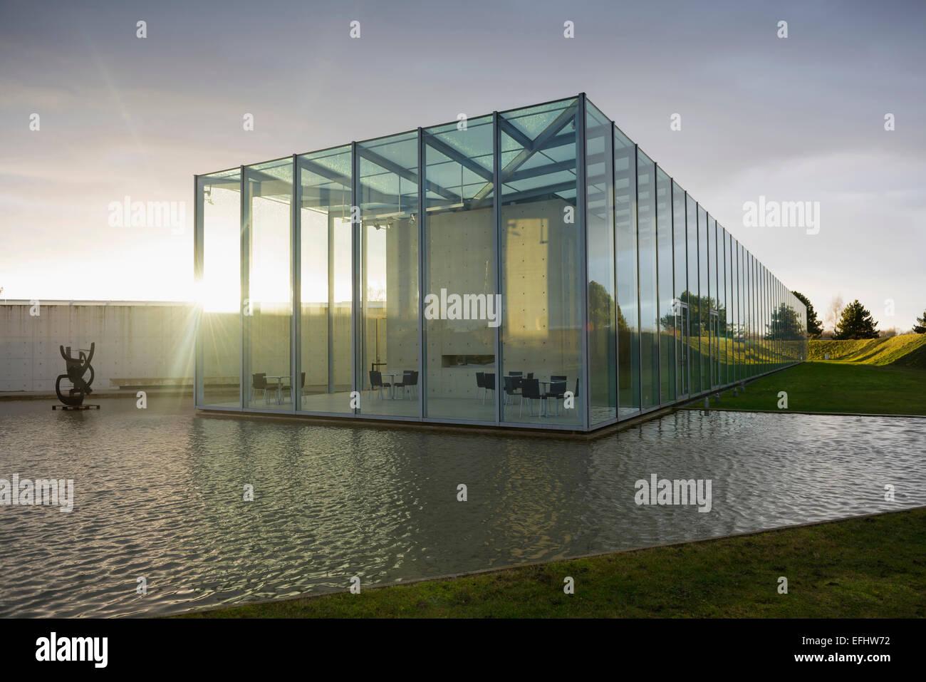Architekt Neuss museum für moderne und japanische kunst gelände des ehemaligen nato