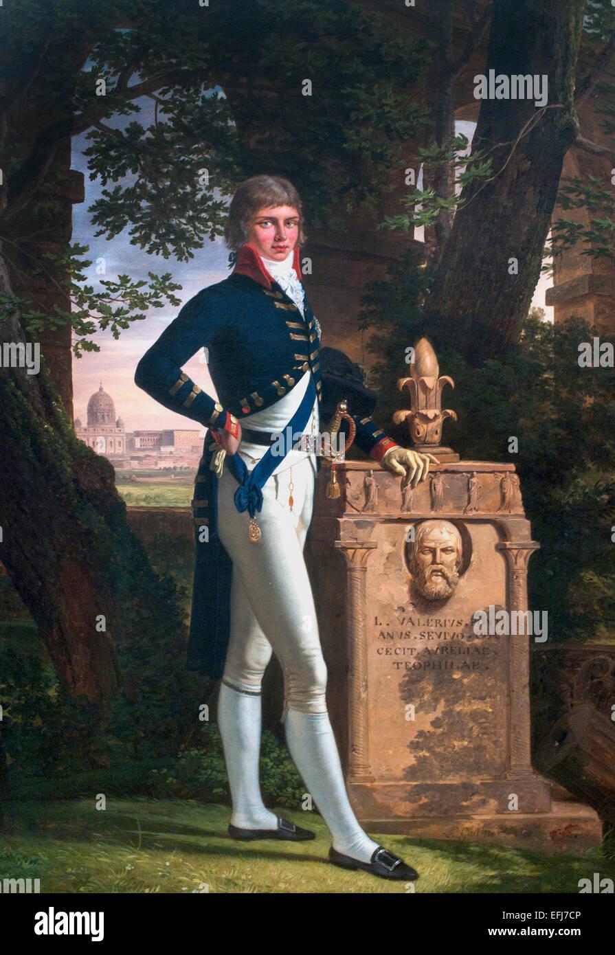 Prinz Augustus Frederick, Herzog von Sussex 1793 Louis Gauffier 1762-1801 Frankreich Französisch Stockbild