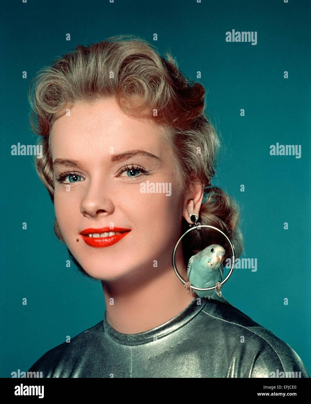 ANNE FRANCIS (1930 ? 2011) U.S. Schauspielerin ca. 1955 Stockbild
