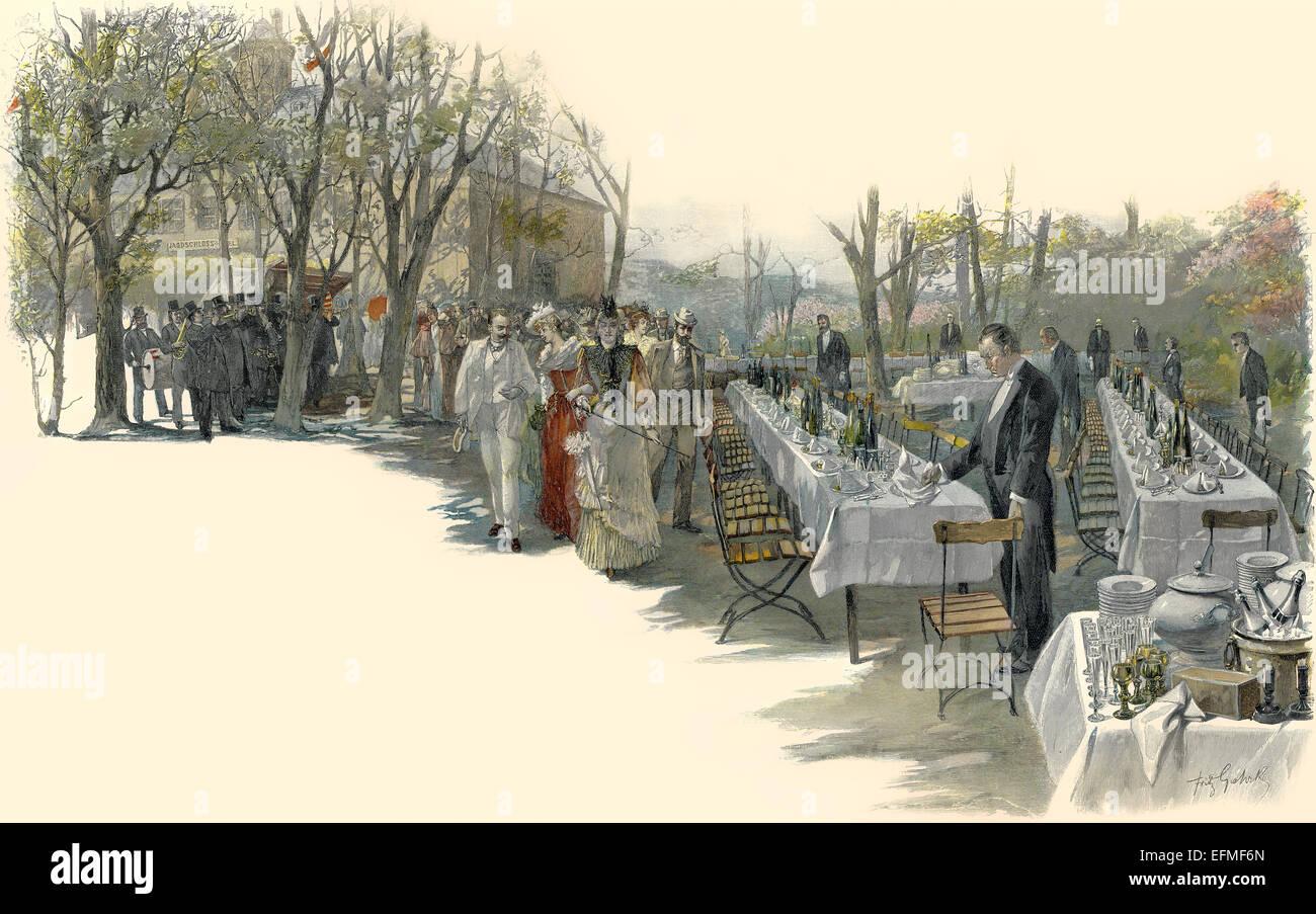 wiesbaden wellness leben in 1900 wiesbaden deutschland europa wiesbadener kurleben um 1900. Black Bedroom Furniture Sets. Home Design Ideas