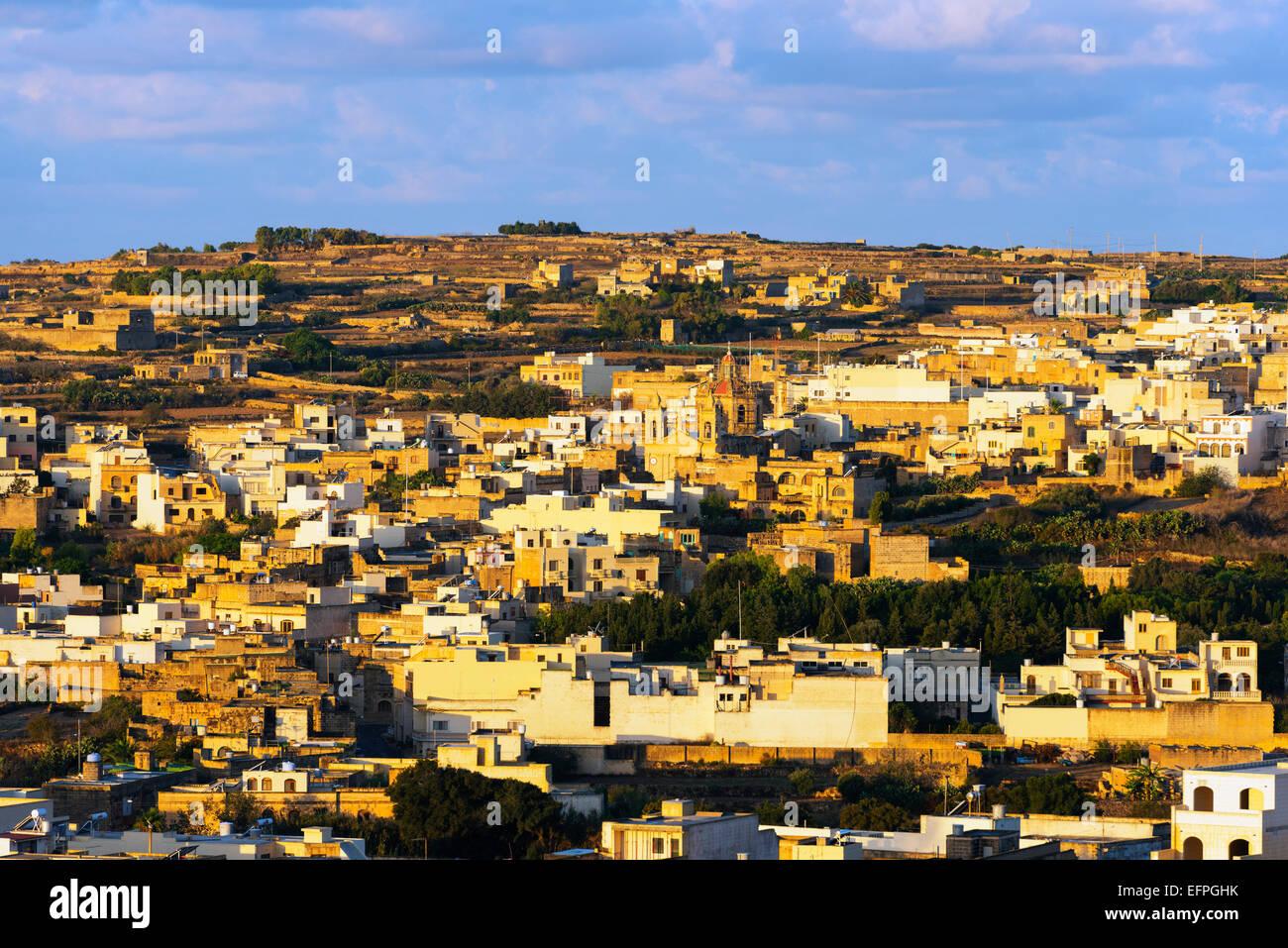 Victoria (Rabat), Insel Gozo, Malta, Mittelmeer, Europa Stockbild