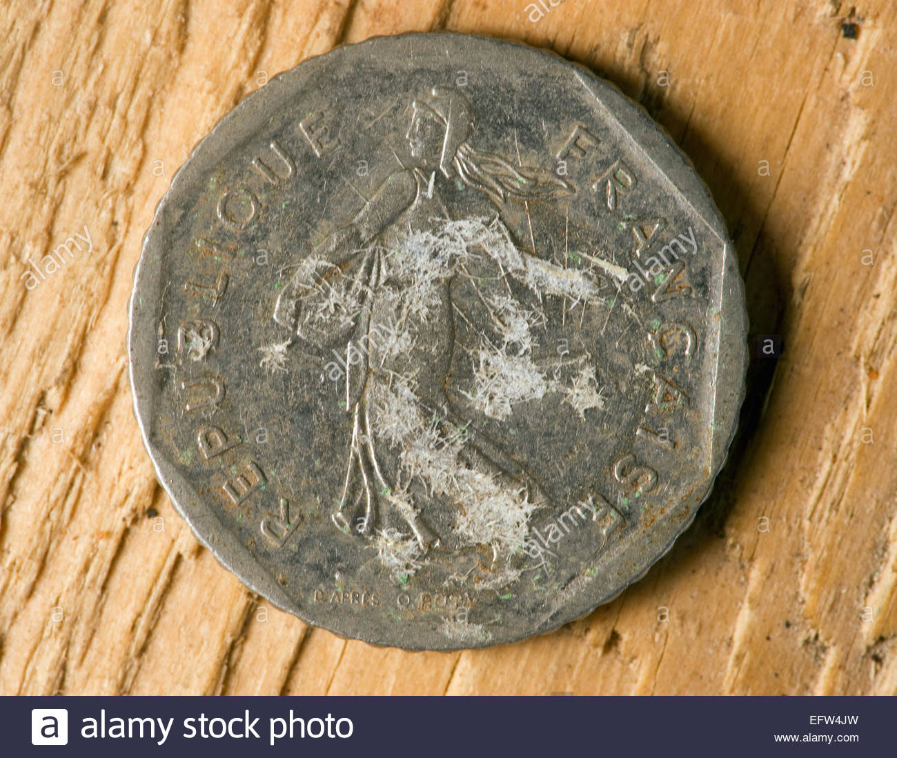 Altfranzösisch Franc Frankreich Europa Europäische Franken Geld Cash