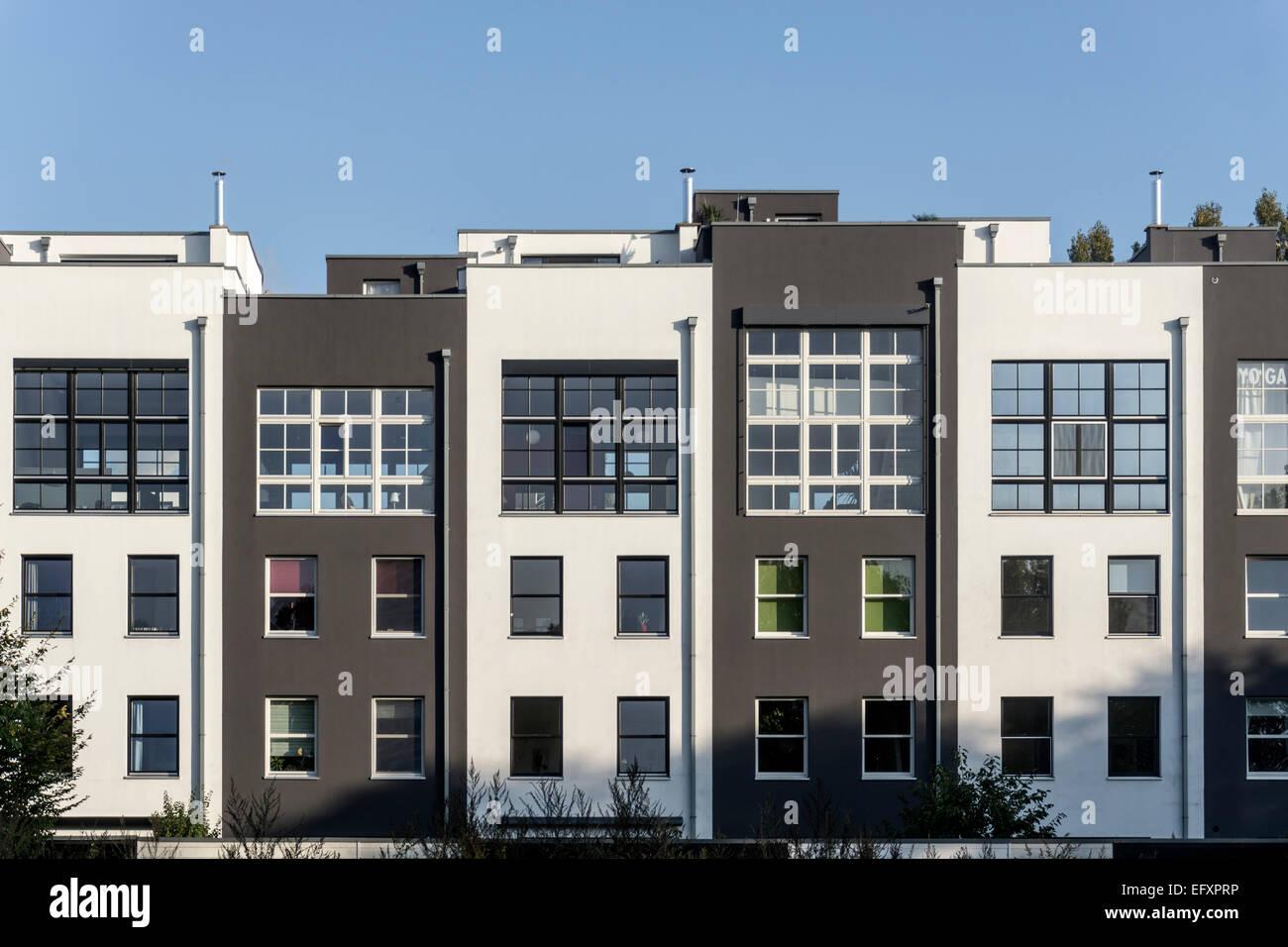 Moderne Architektur, Immobilien, Stadt Haus, Rummelsburger Bucht ...
