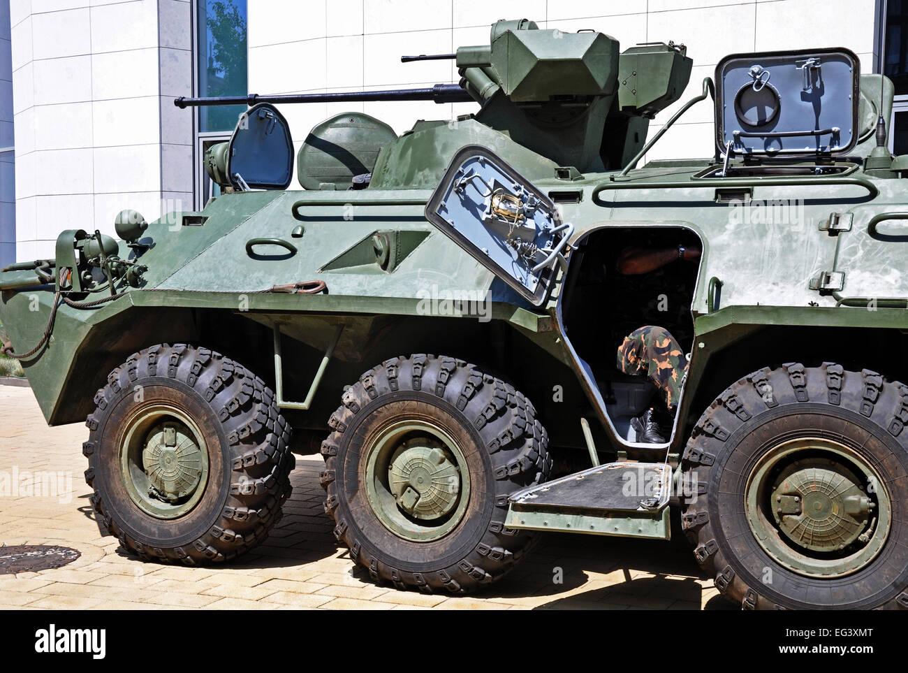 russische gepanzerte milit rfahrzeug stockfoto bild 78762792 alamy. Black Bedroom Furniture Sets. Home Design Ideas