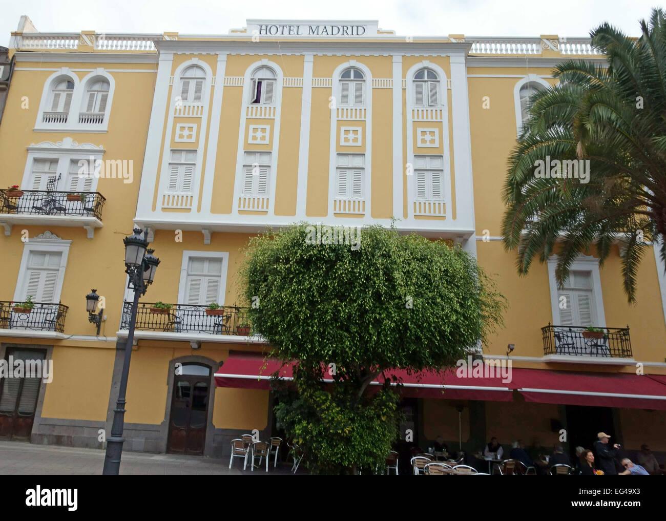 Hotel Madrid In Las Palmas De Gran Canaria Wo Franco Am Vorabend
