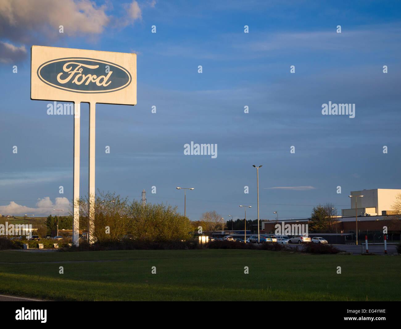 Ford motor Company Zeichen Stockbild