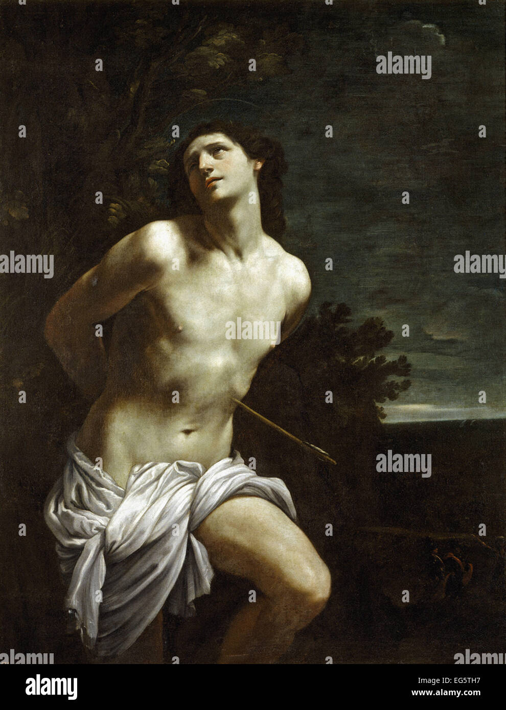Guido Reni Sankt Sebastian Stockbild