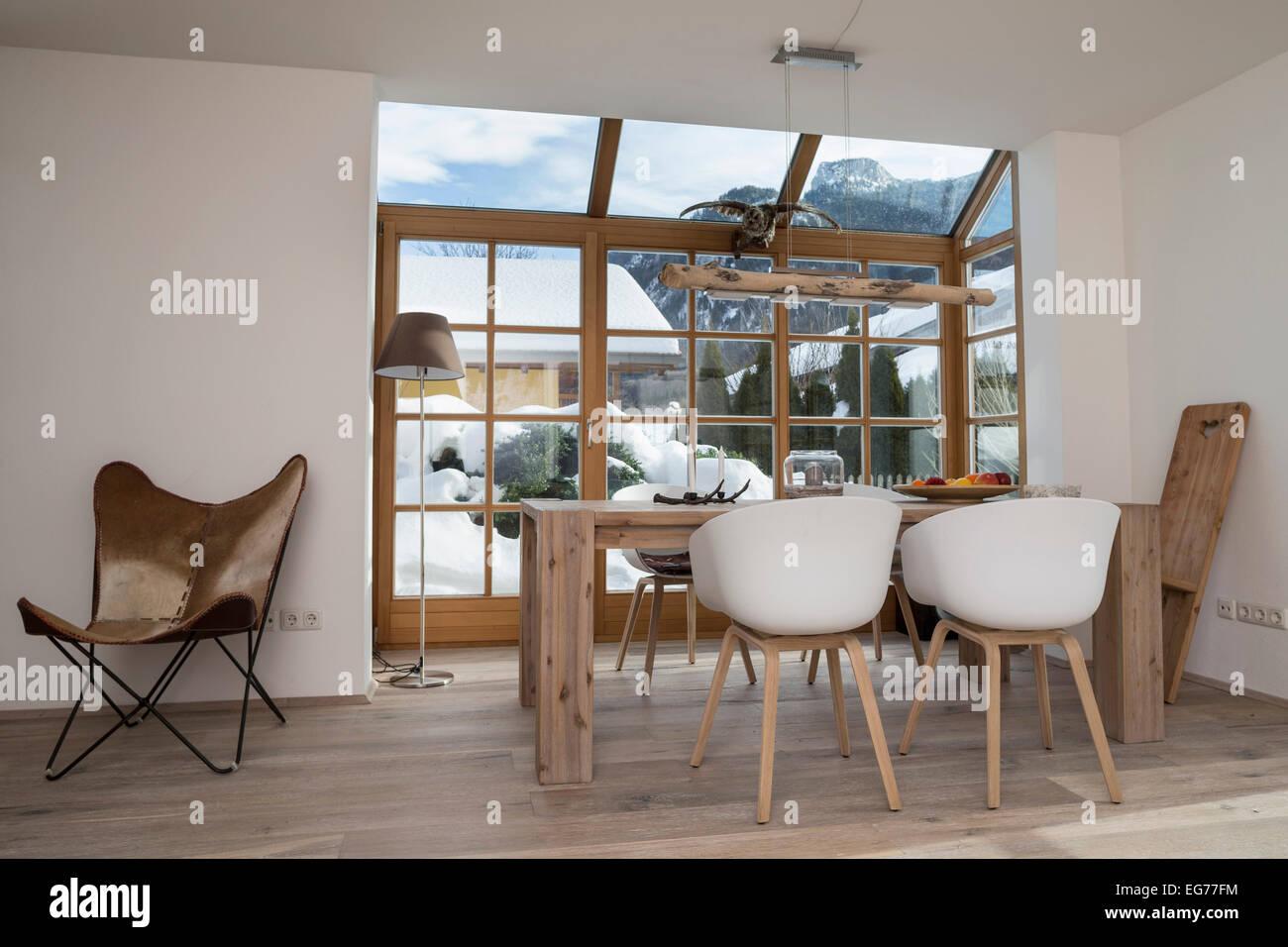 Esstisch In Und Design Stühle Im Wohnzimmer