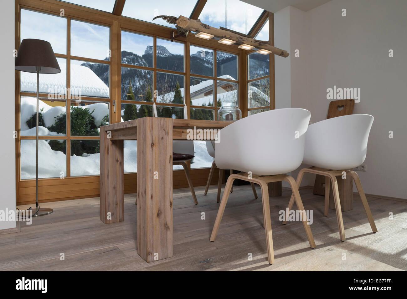 Perfekt Esstisch In Und Design Stühle Im Wohnzimmer