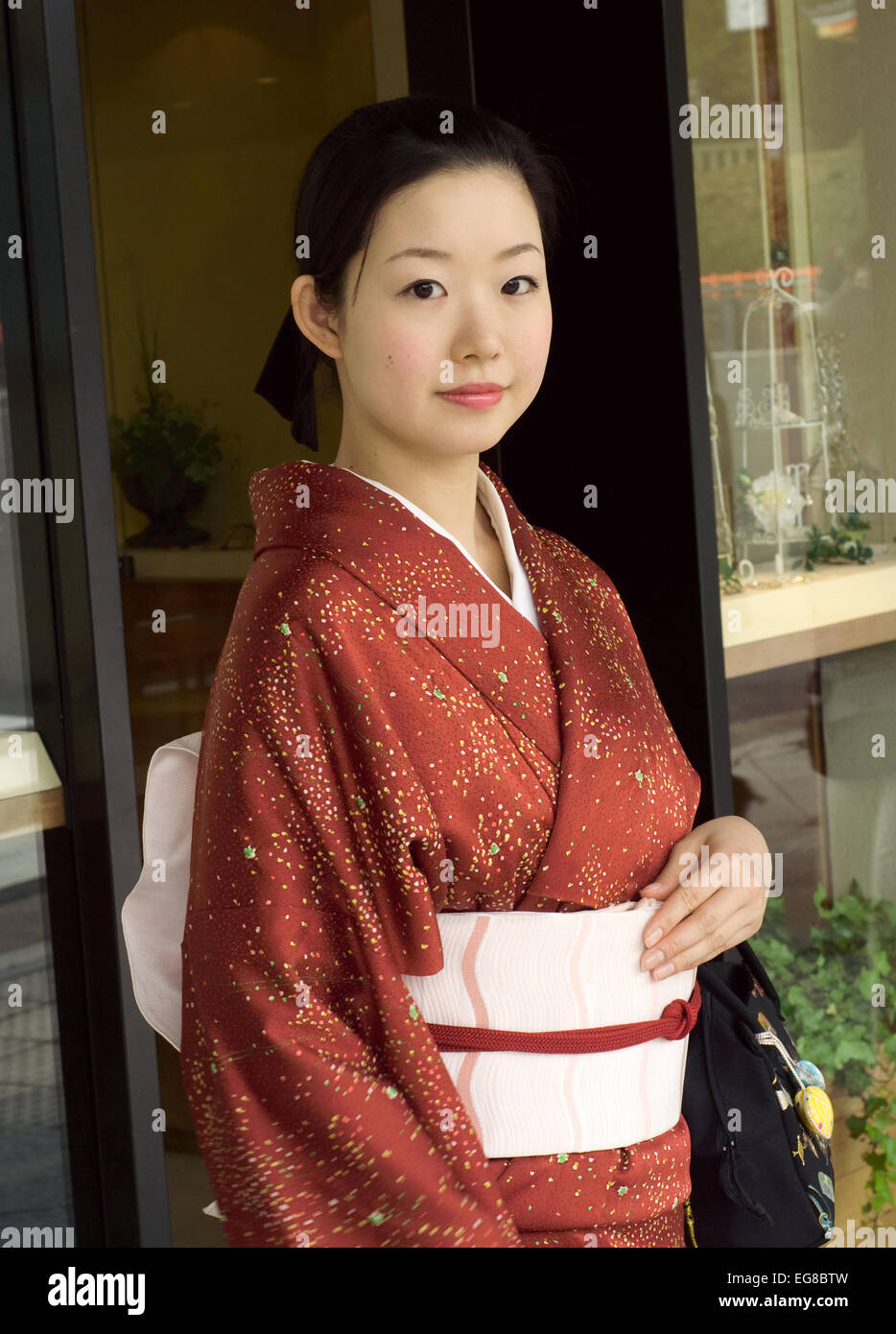 Traditional dress japan stockfotos traditional dress for Traditionelles japan