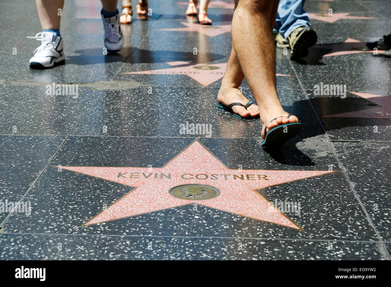 Los Angeles (Kalifornien, USA, USA), April 2014: Hollywood Stockbild