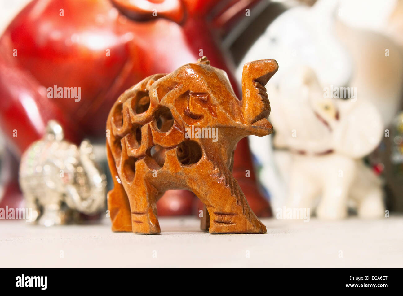 carved ivory elephant stockfotos carved ivory elephant. Black Bedroom Furniture Sets. Home Design Ideas