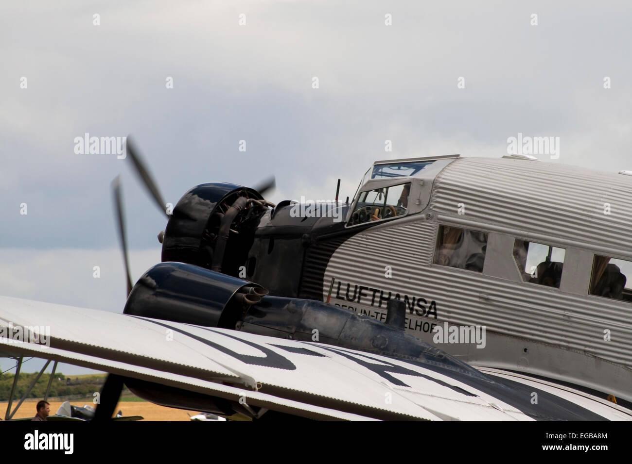 Lufthansa Junkers Ju 52 gute alte \
