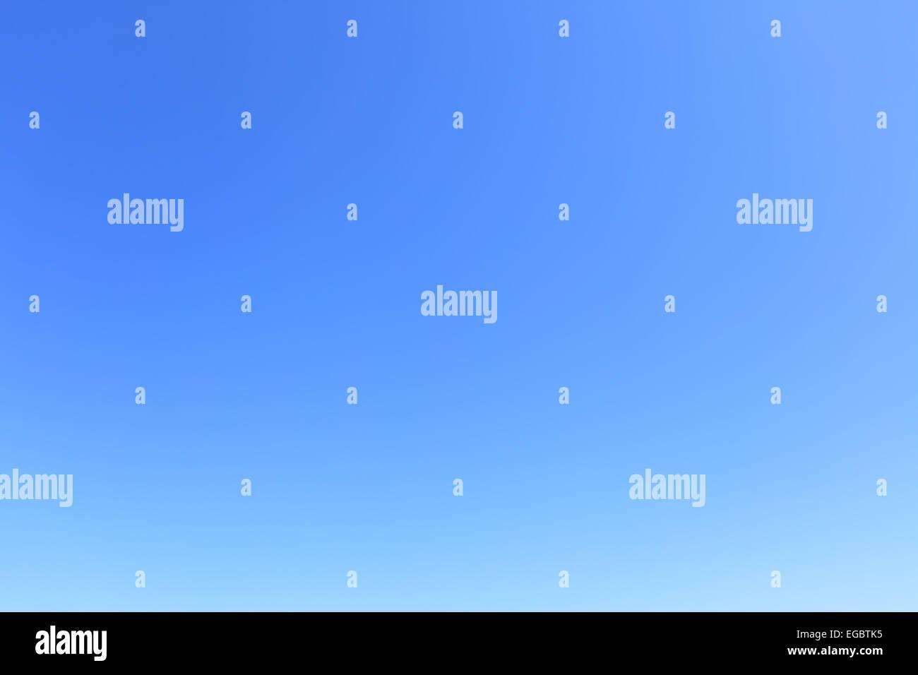 Klar, wolkenlosen blauen Himmel, als Hintergrund verwendet werden Stockbild