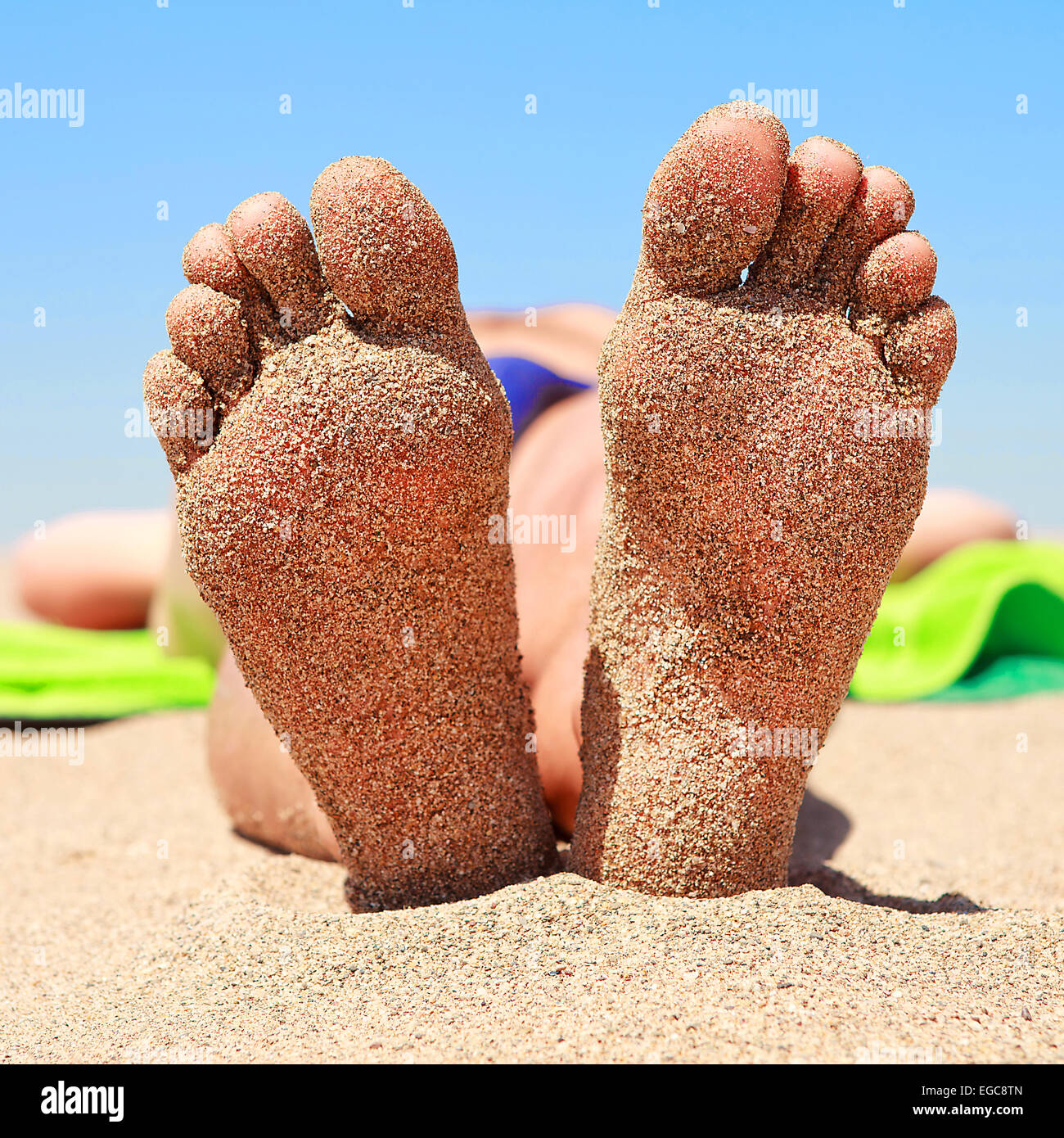 Reife mexikanische Fußsohlen