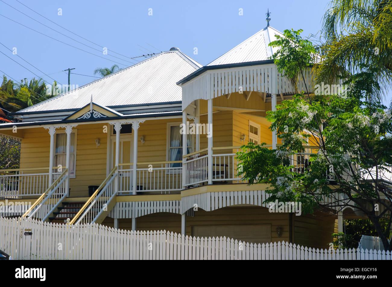 Eitelkeit Haus Auf Stelzen Ideen Von Queenslander ( Stelzen), Brisbane, Queensland, Australien; ;