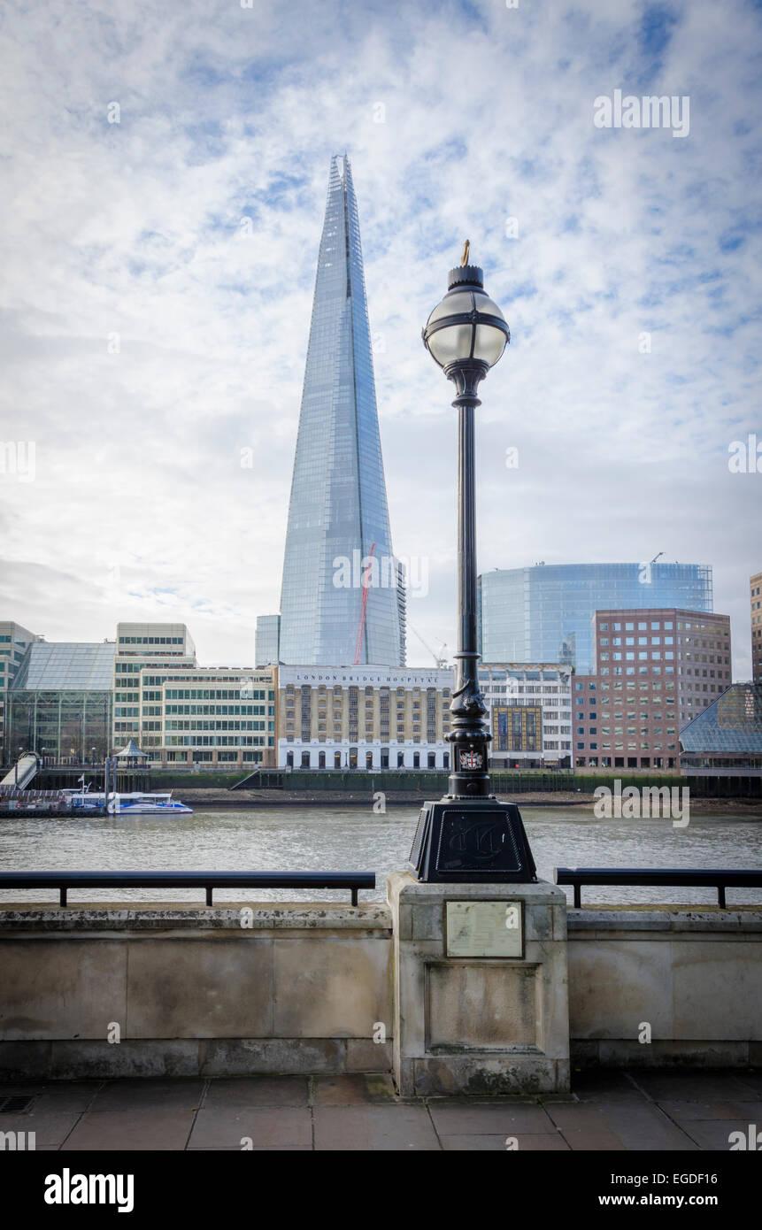 Der Shard, London, UK Stockbild