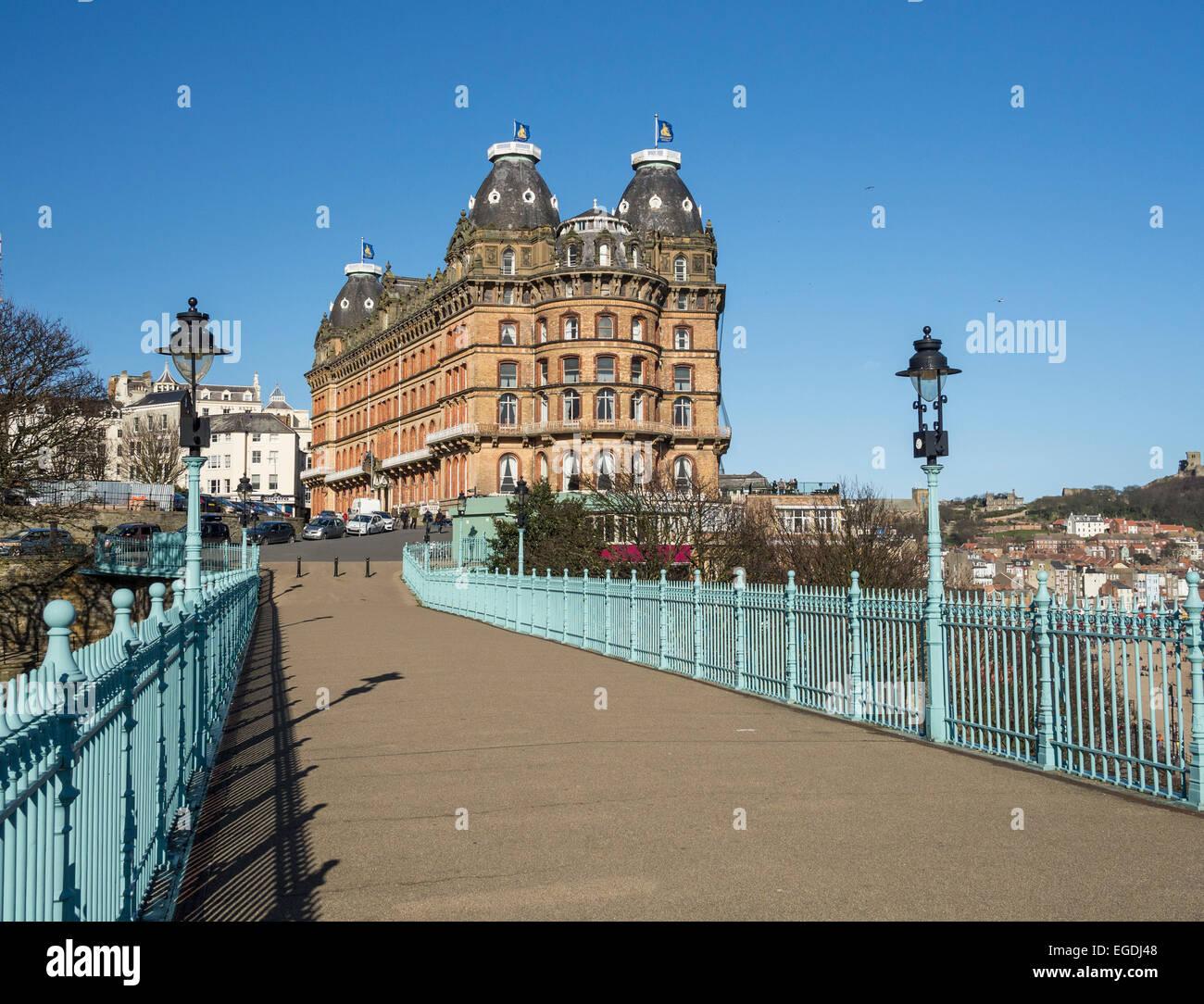 The Grand Hotel Scarborough Stockfotos Und Bilder Kaufen Alamy