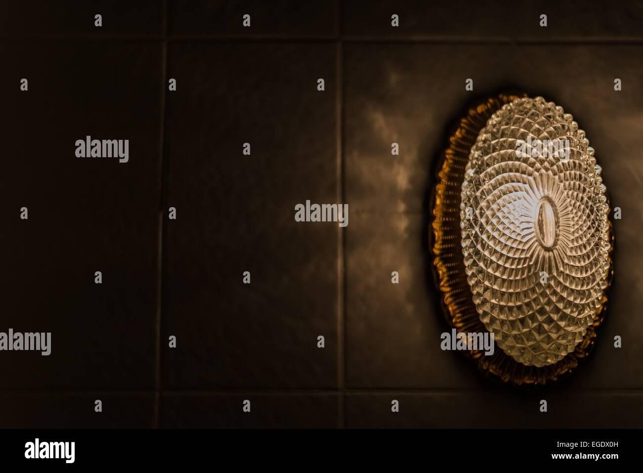Eine Alte Bad Lampe Stockfoto Bild 78981745 Alamy