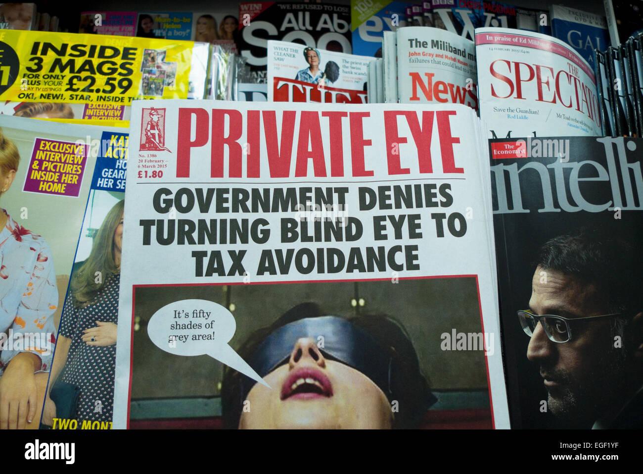 Private Eye-Datierung