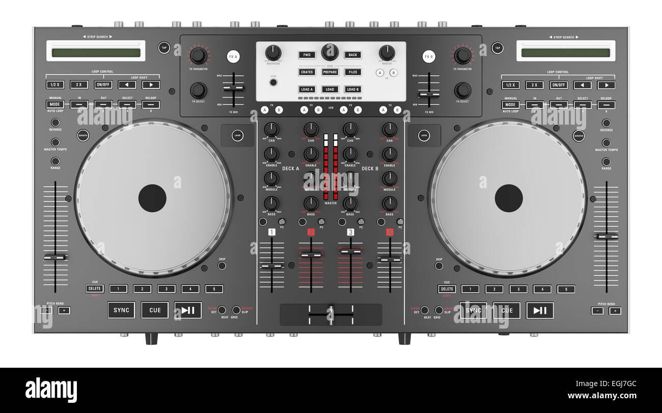 dj turntable mixer equipment top stockfotos dj turntable. Black Bedroom Furniture Sets. Home Design Ideas