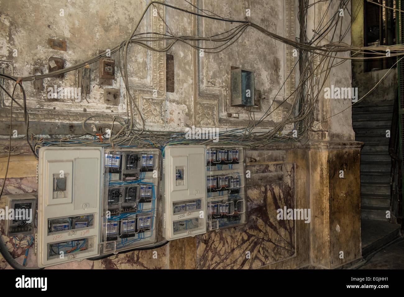 Erfreut Gebäude Elektrische Verkabelung Bilder - Elektrische ...