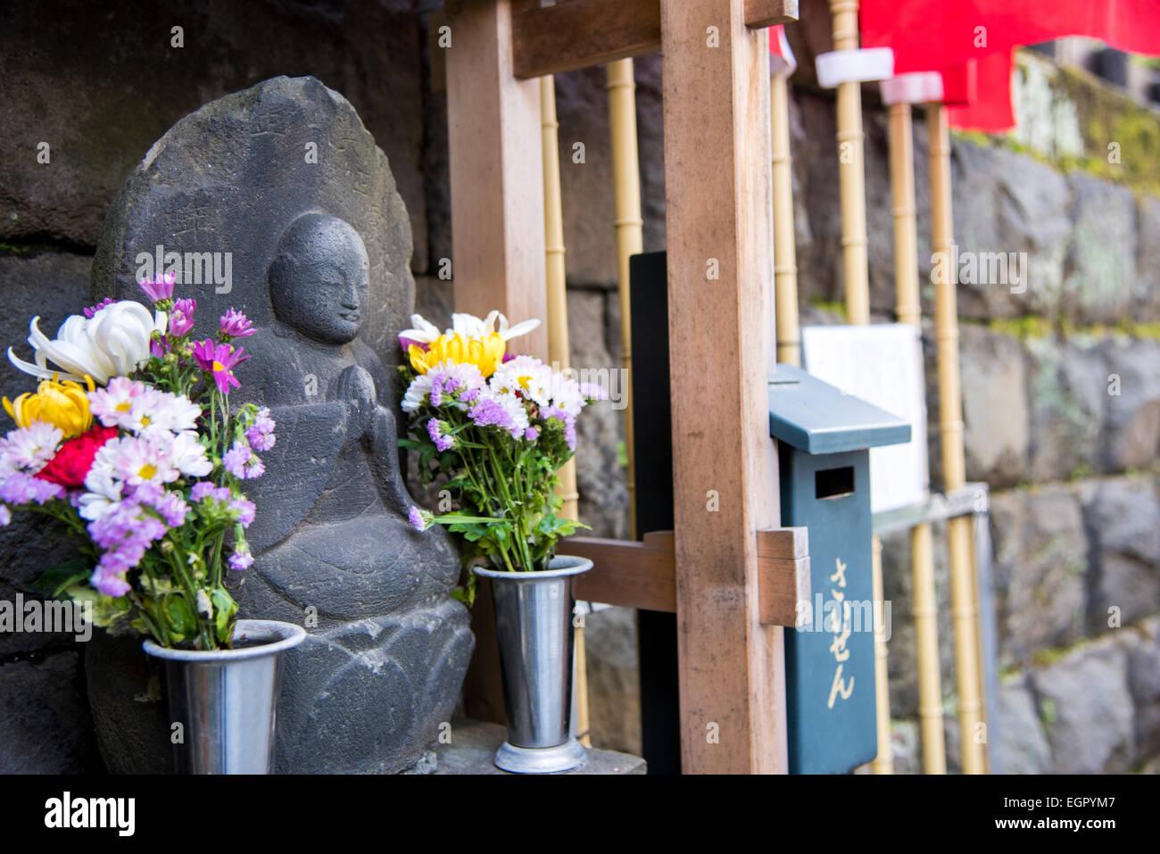 Ume Festival, Yushima Tenmangu, Bunkyo-Ku, Tokyo, Japan Stockbild