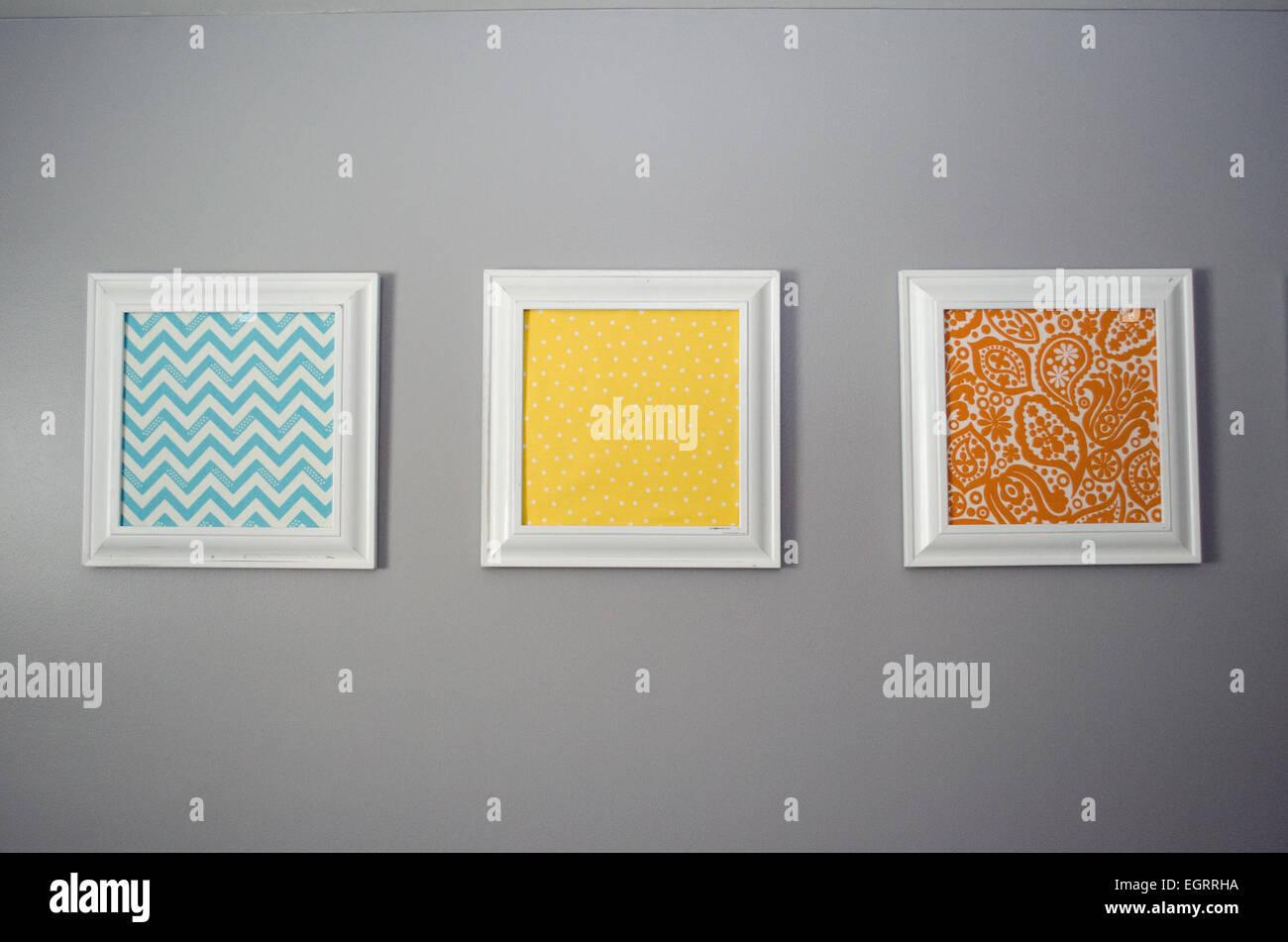 Drucken druckt Wand Bild hängen hängt hing gerahmt Rahmen Tuch Zick ...