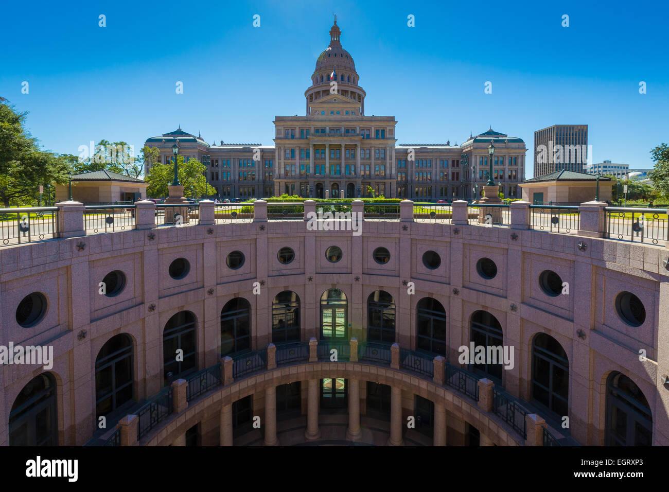 Die Texas State Capitol, befindet sich in Downtown Austin ist das vierte Gebäude, Haus der Staatsregierung Stockbild