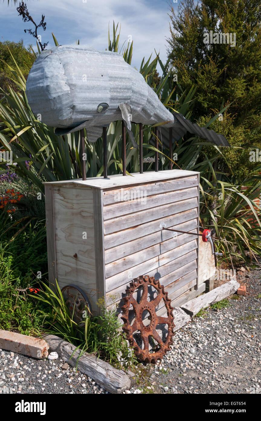 Die verlorenen Gypsy Gallery, Papatowai, South Otago, Südinsel, Neuseeland. Stockbild