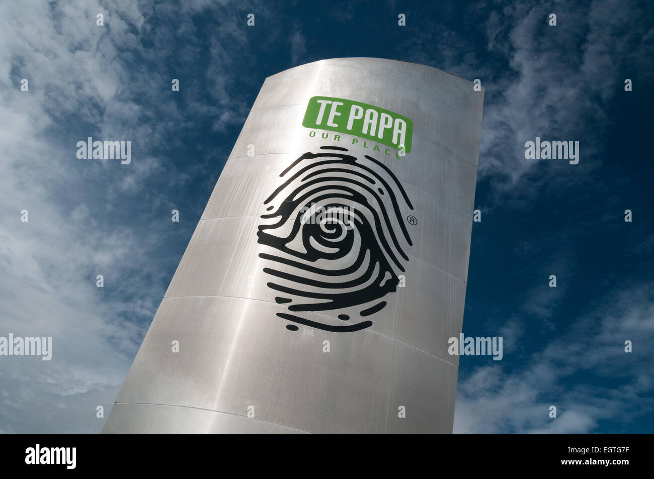 Te Papa Tongarewa, das Museum of New Zealand, Cable Street, Wellington, Nordinsel, Neuseeland. Stockbild
