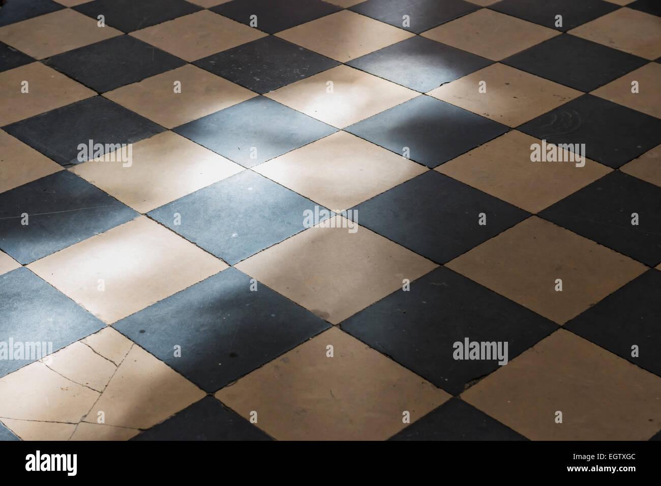 Fußboden Schwarz Weiß ~ Fliesen schwarz weiß boden: pvc boden vinyl fliesen mm fliesen