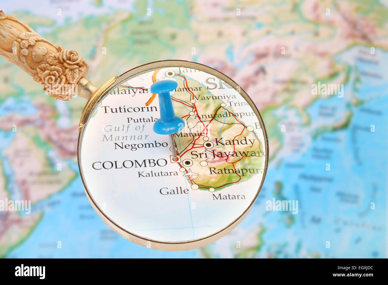 Hauptstadt Von Sri Lanka Wo Liegt Sri Lanka Tourismus