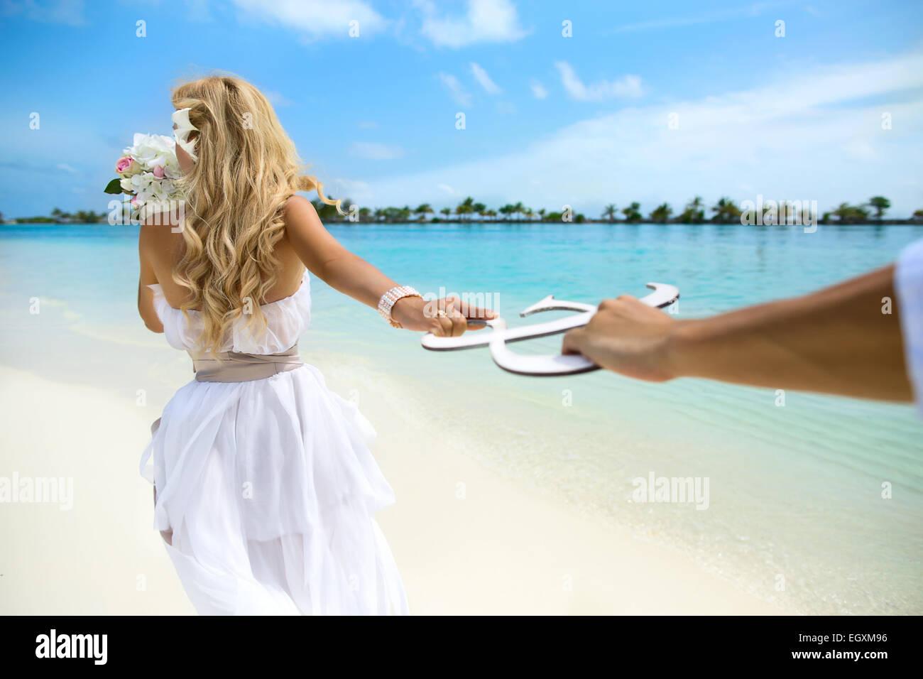Hochzeit Auf Den Malediven Stockfoto Bild 79262658 Alamy