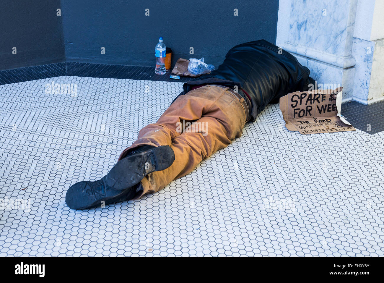 vancouver homeless stockfotos vancouver homeless bilder alamy. Black Bedroom Furniture Sets. Home Design Ideas