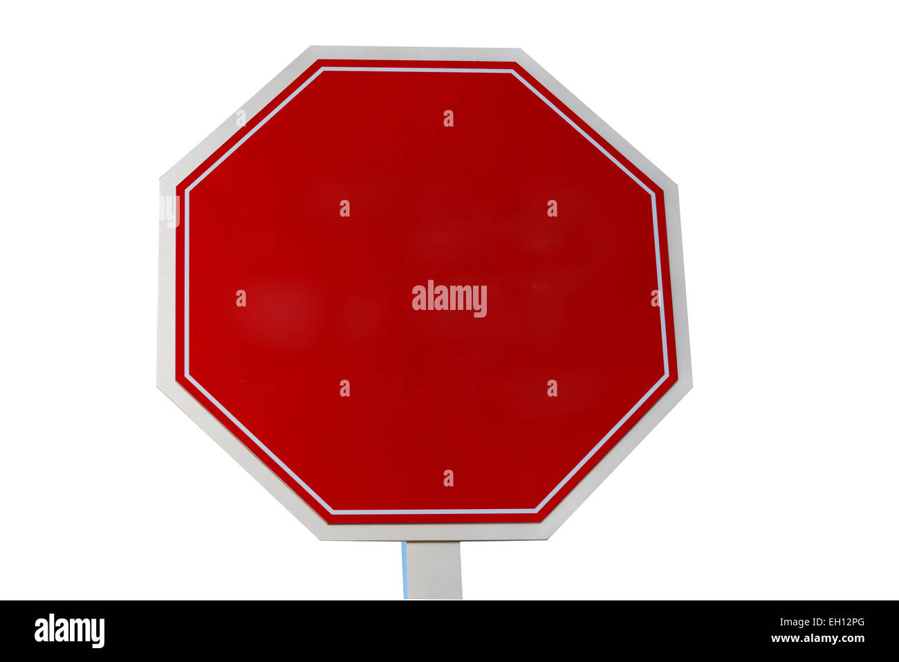 Blank Red Road Sign Stockfotos & Blank Red Road Sign Bilder - Alamy