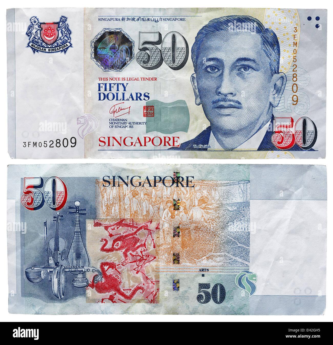50 Fifty Dollar Bill Note Stockfotos & 50 Fifty Dollar Bill Note ...