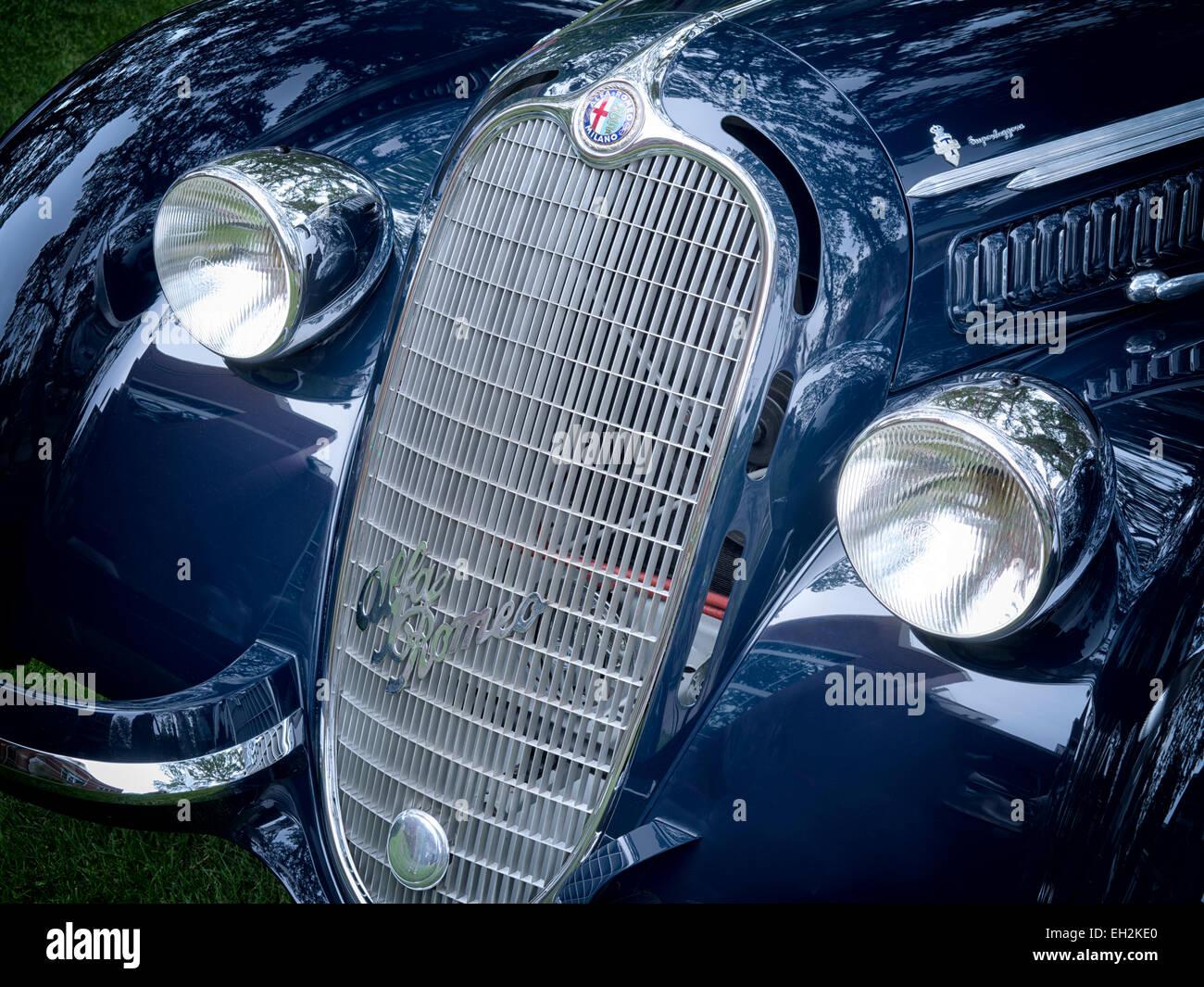 1938-Alfa Romeo Stockbild