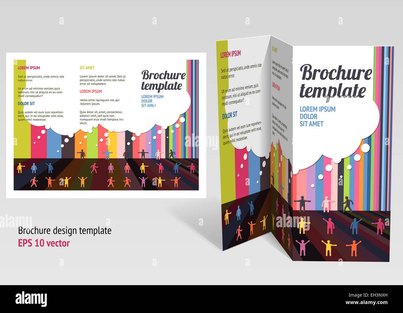 Wunderbar Broschüre Mit Zwei Falten Broschüre Zeitgenössisch - Entry ...
