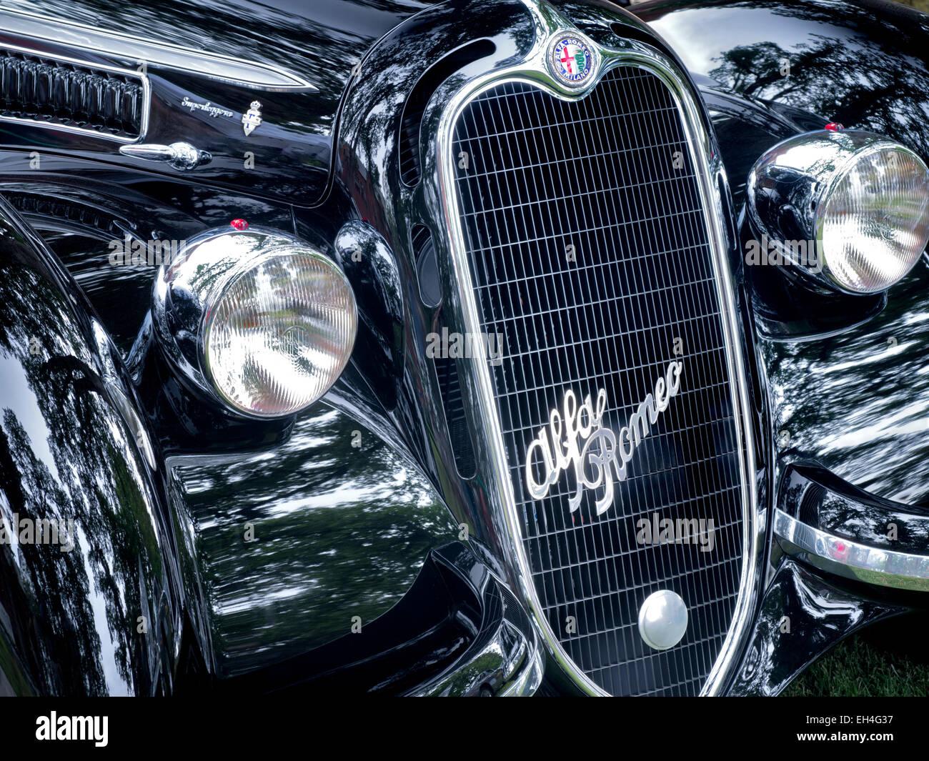 1938 Alfa Romeo S11 Corto. Oregon Stockbild