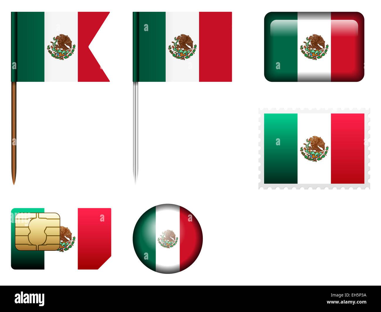 Großartig Mexiko Flagge Färbung Bilder - Entry Level Resume Vorlagen ...