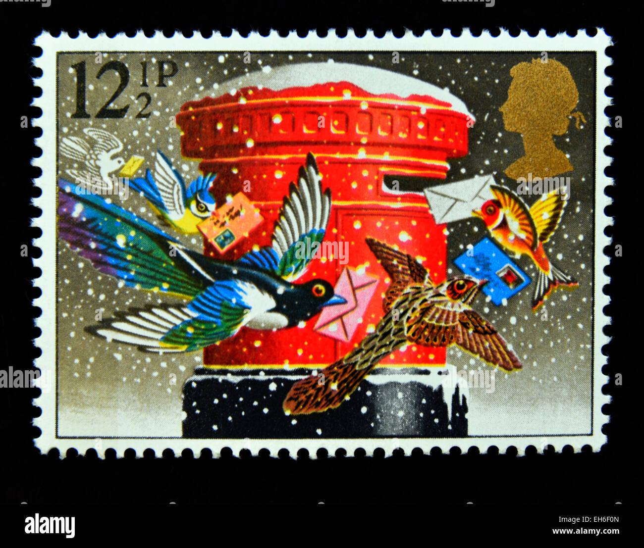 Christmas Pillar Box Stockfotos & Christmas Pillar Box Bilder - Alamy