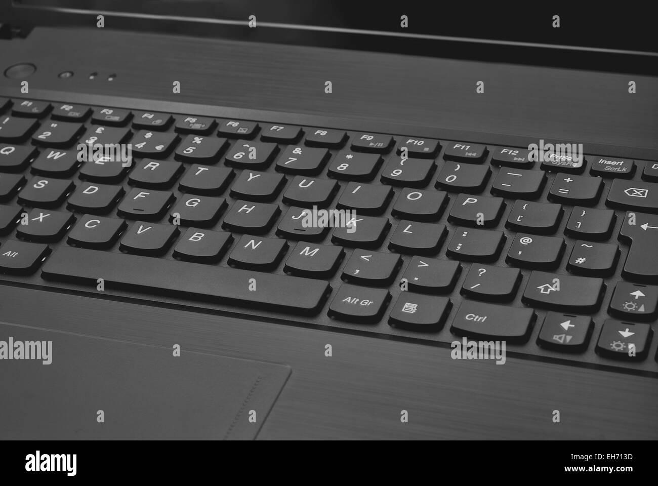 laptop tastatur nahaufnahme hintergrundtextur stockfoto. Black Bedroom Furniture Sets. Home Design Ideas