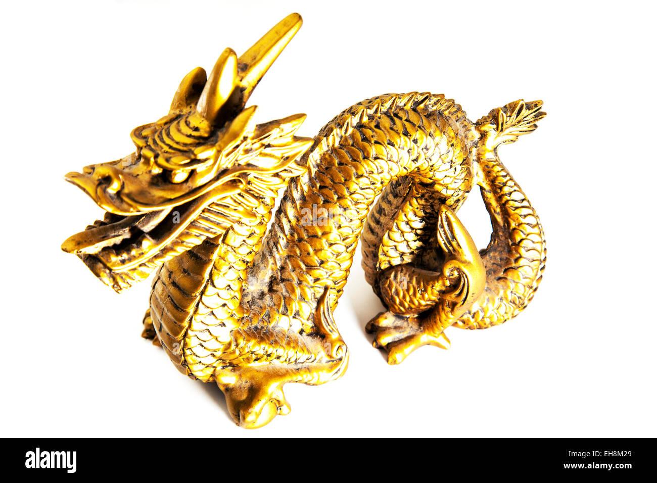 Chinesischer Drache Gold