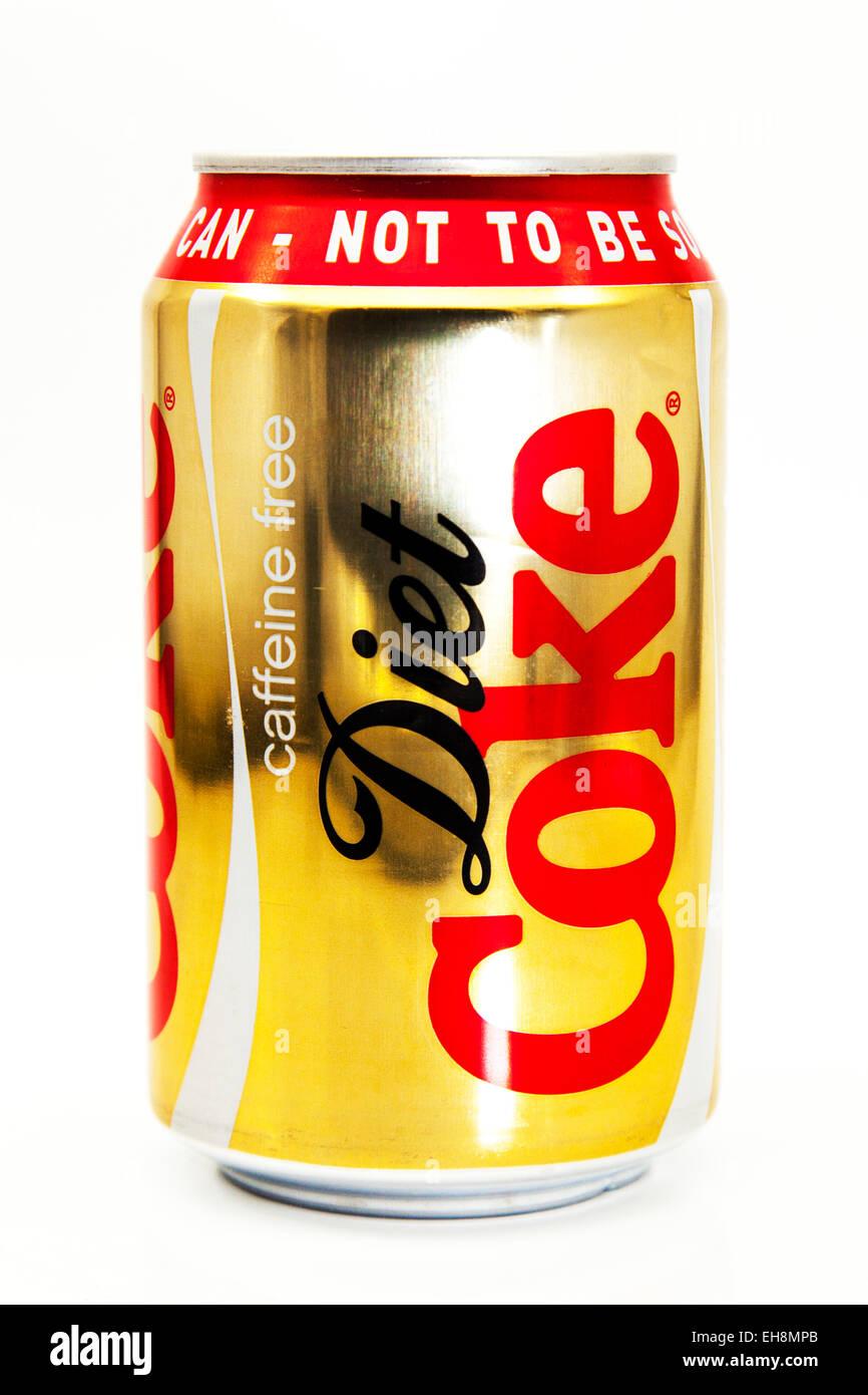 Diät Cola Koffein können kostenlose Coca Cola pop Limonade Dose ...