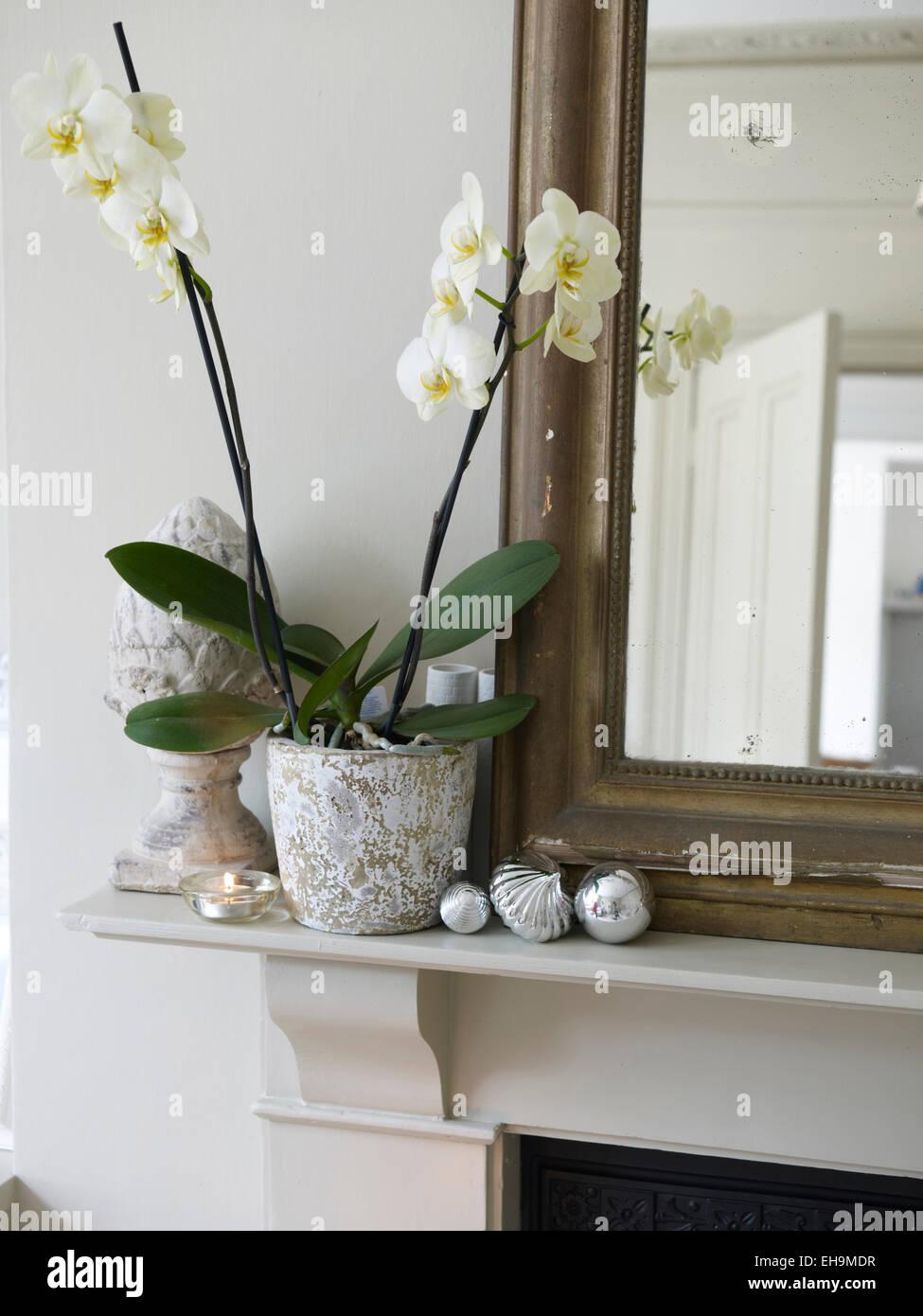 Ausgezeichnet Weiß Gerahmten Spiegel Uk Fotos - Benutzerdefinierte ...